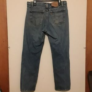 Levi's 515 jeans, 36-30, made in USA